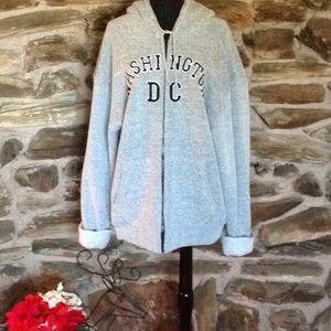 Washington DC hoodie jacket